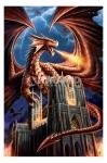 Anne Stokes (Dragon Fury) Maxi Poster