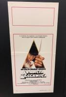 Arancia Meccanica - rarità locandina ediz. 1982 cm. 33x70
