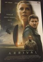 Arrival (2017) poster maxi CINEMA cm. 100X140