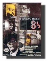 8 1/2 Fellini Otto e mezzo 70x100 Non Piegato!