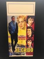 Il Grido di Antonioni Loc.33x70 ristampa digitale