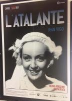 L'Atalante di Jean Vigo (ediz. rest. 2018) Manifesto 100x140
