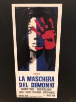 La Maschera del Demonio di Mario Bava Loc. 33x70 ristampa digit.