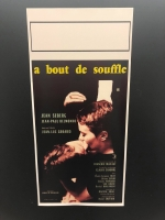A' bout de souffle (Fino all'ultimo respiro) Loc.33x70 digitale