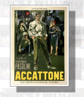 ACCATTONE Poster Film 50x70