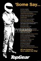 Poster Auto e TV Pilota Formula 1 Top Gear Citazioni