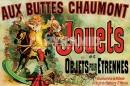 Poster Bambini Giochi Vintage Jouets
