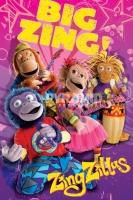 Poster Bambini Zingzillas Musica