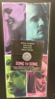 Song to Song (2017) Locandina originale 33x70