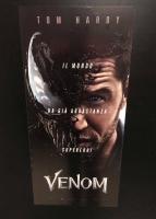 Venom (2018) Locandina prima edizione italiana cm. 33X70
