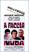 A faccia nuda (1985) Locandina Originale