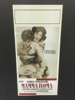 Mamma Roma locandina 33X70 digitale tiratura limi