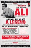 Poster Boxe Newspaper Muhammad Ali The Legend