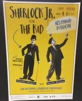 Sherlock Jr. vs The Kid - poster 70x100