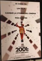 2001 Odissea nello Spazio (ediz.2018) Poster Cinema 100x140