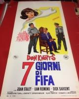 7 Giorni di fifa 1966 locandina cinema 35x70