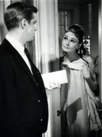 A.Hepburn COLAZIONE DA TIFFANY porta foto poster 20x25