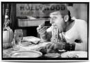 AMERICANO A ROMA Sordi Spaghetti Miniposter cm.35x50