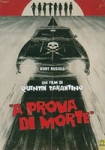 A PROVA DI MORTE Grindhouse Q. Tarantino DVD