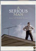 A Serious Man (2009 ) DVD Ethan Coen, Joel Coen