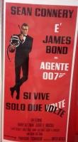 Agente 007 Si vive solo due volte locandina ristampa limit. 33x7