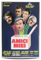 Amici Miei Tognazzi mini poster 35x50