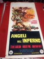 Angeli nell'inferno 1967 locandina cinema 35x70