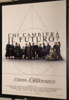 Animali Fantastici I Crimini di Grindelwald man.100x140