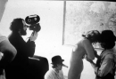 Arancia meccanica Kubrick sul set foto poster 20x25