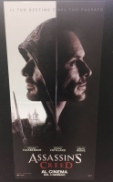 Assassin's Creed locandina cm. 33x70