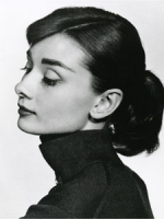 Audrey Hepburn profilo foto poster 20x25