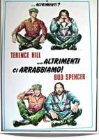 B.Spencer Hill Altrimenti ci Arrabbiamo Miniposter 35x50