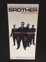 BROTHER Takeshi Kitano - Locandina ristampa digitale 33X70