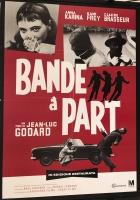 Bande à part di Godard (ediz. rest. 2018) Manifesto 100x140