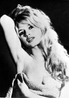 Bardot B. posa sexy asciugamano foto poster 20x25