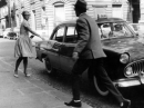 Belmondo Seberg Fino all'ultimo Respiro taxi foto poster 20x25