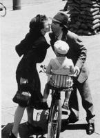 Benigni la vita è bella bicicletta foto poster