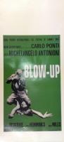 Blow up di M. Antonioni Locandina 33x70  tipo verde