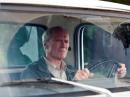 C.Eastwood Gran Torino in auto foto poster
