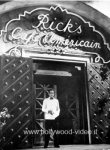 Casablanca Bogart  RICK'S CAFE Foto poster