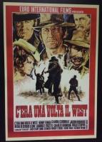 C'era Una Volta Il West (tipo A) poster film  70x100