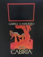 Cabiria di Pastrone locandina 33X70 digitale tiratura limitata