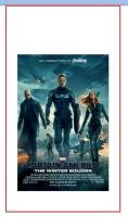Captain America The Winter Soldier Origin.33x70