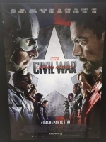 Captain America Civil War Poster italiano cm 70x100