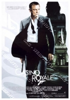 Casino Royale (2006) locandina cinema 35x70