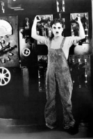 Chaplin C. tempi moderni foto poster