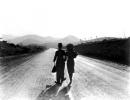 Chaplin Goddard TEMPI MODERNI scena finale foto poster