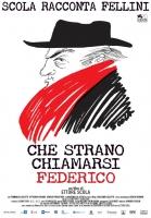 Che Strano Chiamarsi Federico Poster maxi CINEMA 100X140
