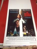 Chi protegge il testimone 1987 locandina cinema 35x70