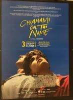 Chiamami col tuo nome (2018) Poster maxi CINEMA 100X140